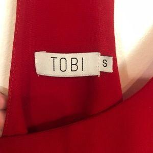 Tobi Tops - Tobi Racerback Red Tank Top